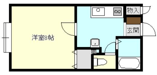 アーバンライフⅡ Y106号室