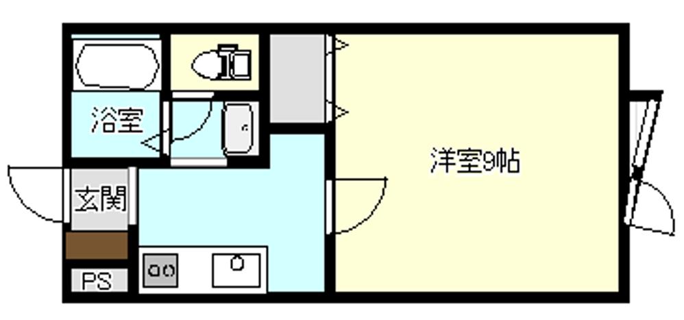 エステートA 202号室