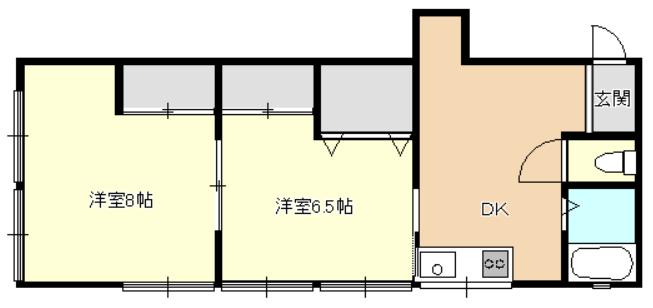 石川アパート 2号室